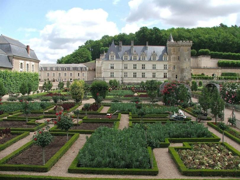 Chateau Villandry Herb Gardens